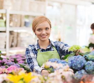Service de livraison de fleurs - Simplifia